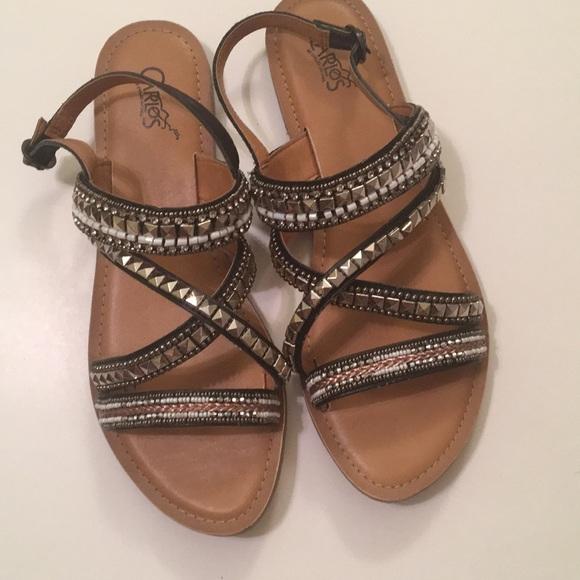 ae3261fb2 Carlos Santana Shoes - Carlos by Carlos Santana sandals size 10